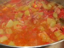 Leczo z pomidorami i marchewką