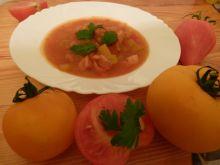 Leczo z pomidorów i cukinii