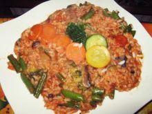 Leczo z warzywami i ryżem