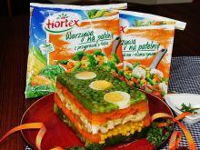 Lekka, kolorowa i zdrowa galareta z warzyw