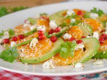 Lekka sałatka z mandarynką
