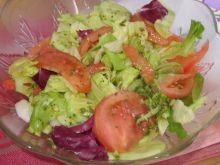 Lekka sałatka z mixem sałat