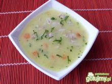 Lekka zupa z kaszą manną