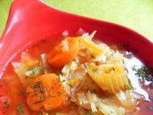 Lekka zupka kapuściana