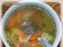 Lekka zupka ogórkowa