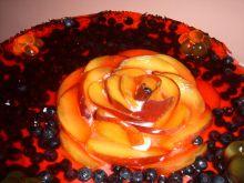 Lekki torcik owocowy