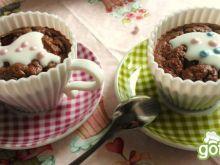 Lekkie babeczki czekoladowo-jogurtowe