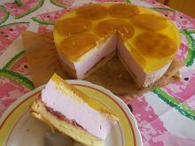 Lekkie ciasto sernikowe