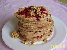 Lekkie pancakes truskawkowe