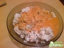 Lekkie risotto z sosem pomidorowym