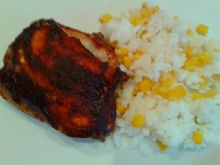 Lekko azjatycki  kurczak BBQ