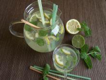 Lemoniada cytrynowa z limonką i nutą mięty