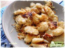 Leniwe z cebulą i wędzonym serem