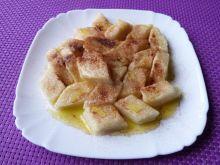 Leniwe z serem i mąką kukurydzianą
