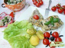 Letni obiad z dorszem i bobem