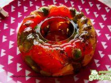 Letnia galaretka warzywna z rzodkiewką