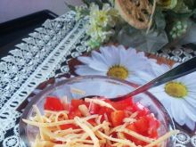 Domowa letnia sałatka