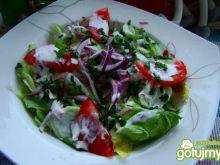 Letnia sałatka do obiadu