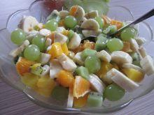 Letnia sałatka owocowa