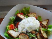 Letnia sałatka w sezamie