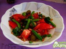 Letnia sałatka warzywna z kaszą gryczaną