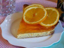 Letnia tarta pomarańczowa