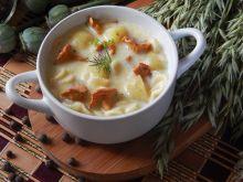 Letnia zupa kurkowa