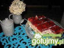 Letnie ciasto z galaretką i z owocami