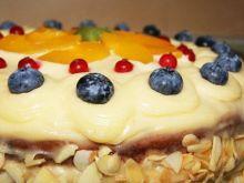Letnie orzeźwienie - Tort cytrynowy