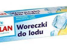 Lód do drinków w woreczkach