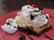 Lodowo-ciasteczkowy deser