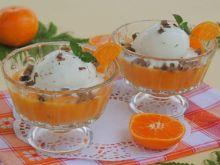 Lodowo-mandarynkowy deser