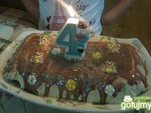 Lodowy tort urodzinowy