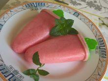 Lody arbuzowe z mlekiem