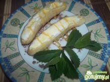 Lody grillowane w bananach z chili