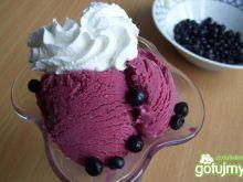 Lody jogurtowo-jagodowe