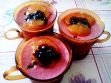 Lody z jagody kamczackiej i rodzynek