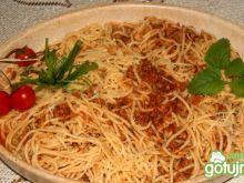 Łopatkowe spaghetti wg Buni