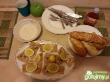 Łosoś w pieprzu i cytrynie