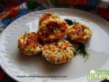 Łososiowe kotleciki z jajkiem