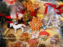 Lukrowane świąteczne pierniczki