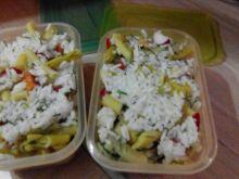 Lunch box  z ryżem