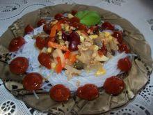 Makaron ryżowy z sosem Tao Tao