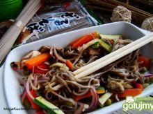 Makaron Soba Hosan z warzywami