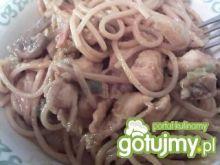 Makaron spaghetti nieco inaczej:)