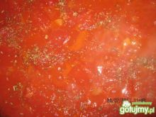 Makaron w pomidorach