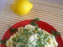 Makaron w sosie cytrynowym