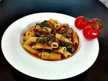 Makaron włoski na cebulce