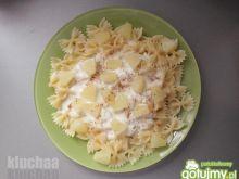 Makaron z ananasem