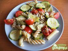 Makaron z cukinią i pomidorami wg Koper